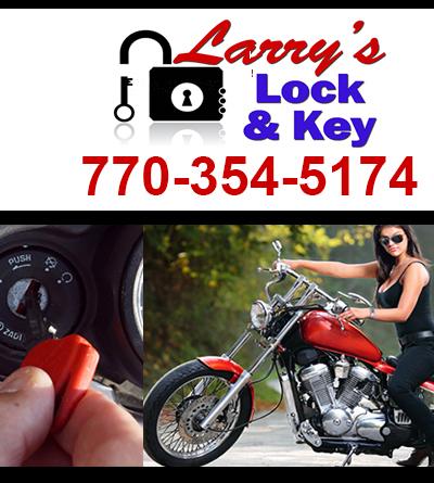motorcycle locksmith McDonough GA